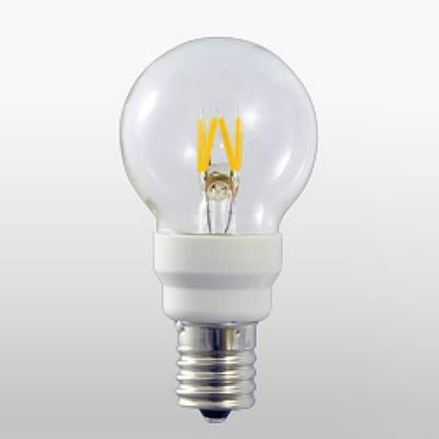 LEDフィラメント電球 グローブ形(G40) 0.7W E17 Let