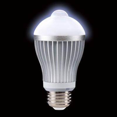 LED電球 人感センサー付き 一般電球形 電球色 0.2W E26 画像2