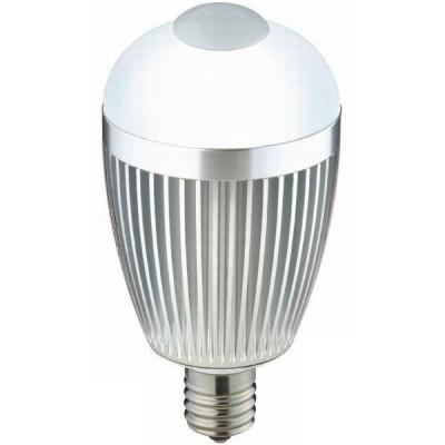 LED電球 人感センサー付き 一般電球形 昼白色 6.0W E17