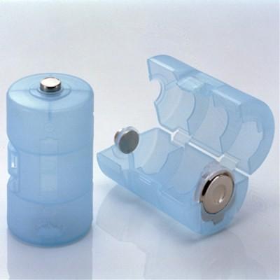 単3が単1になる電池アダプター(ブルー) 画像2