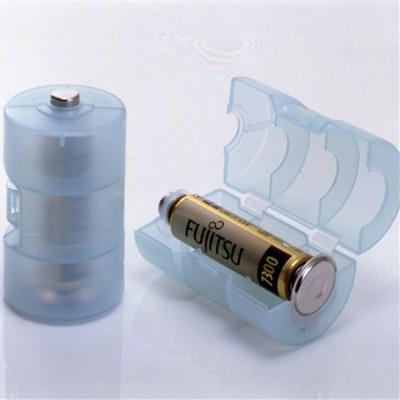 単3が単1になる電池アダプター(ブルー) 画像3