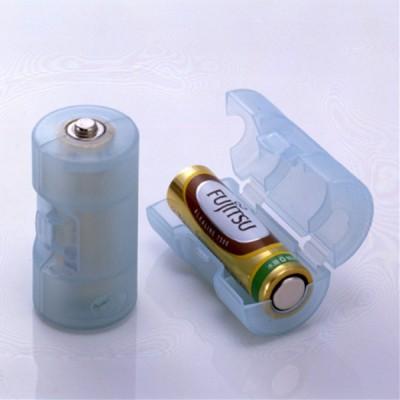 単3が単2になる電池アダプター(ブルー) 画像3