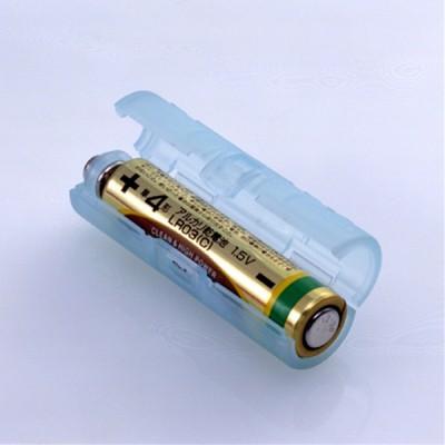単4が単3になる電池アダプター(ブルー)
