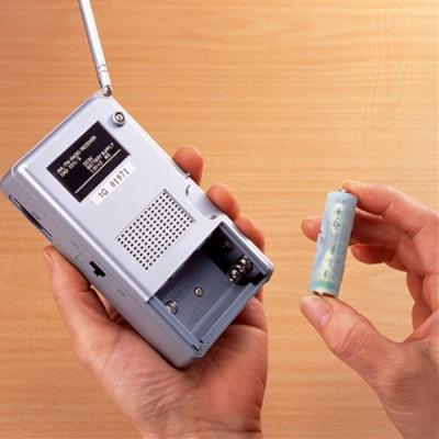 単4が単3になる電池アダプター(ブルー) 画像2