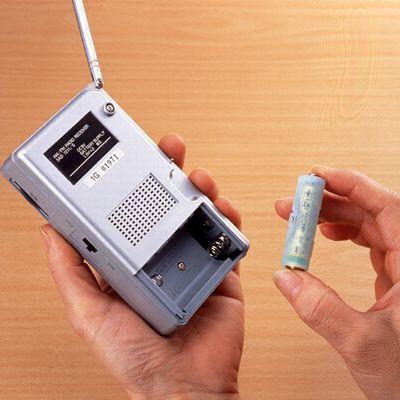 単4が単3になる電池アダプター(ライトグリーン) 画像2