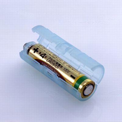 単4が単3になる電池アダプター(パールブルー)