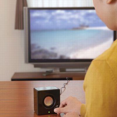 液晶テレビ対応手もとスピーカー 画像3