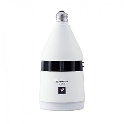 天井設置型(トイレ用) プラズマクラスターイオン発生機 ホワイト LEDダウンライト 電球色 E26