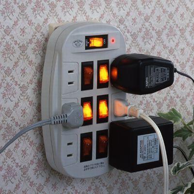 雷ガード付6口節電コンセント 画像2