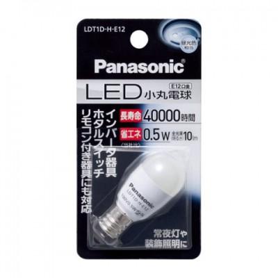 LED電球 小丸電球形 昼光色 0.5W E12