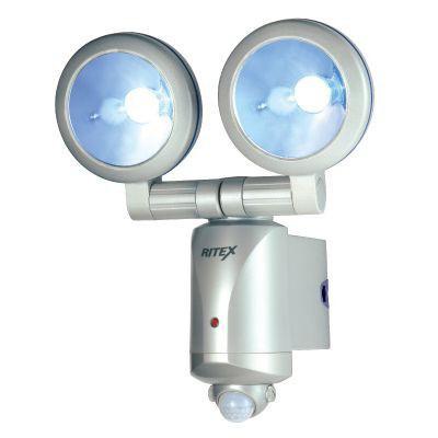 RITEX 乾電池式3W×2LEDセンサーライト LED-260
