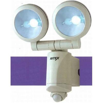乾電池式LEDセンサーライト 1.3W×2