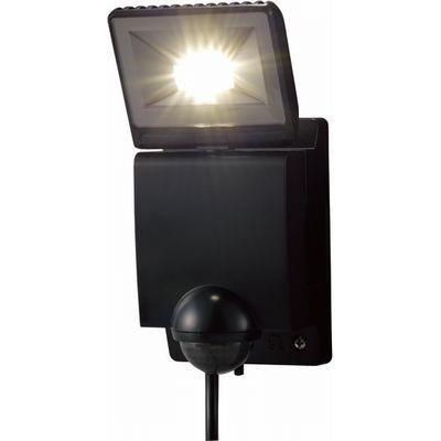 LEDセンサーライト 1灯タイプ(ブラック)