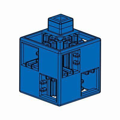 Artecブロック 基本四角 24P 青