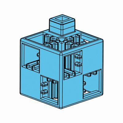 Artecブロック 基本四角 24P 水