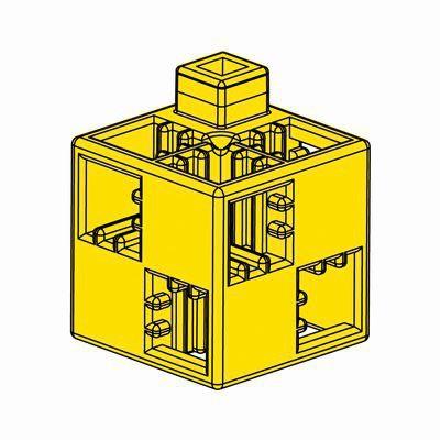 Artecブロック 基本四角 24P 黄