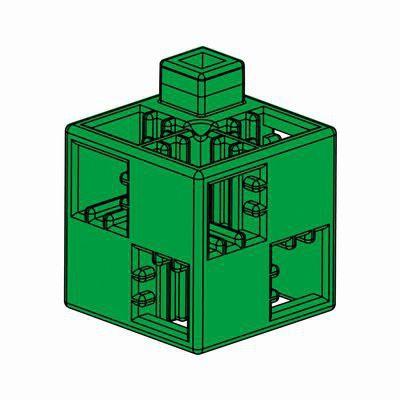 Artecブロック 基本四角 24P 緑