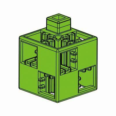 Artecブロック 基本四角 24P 黄緑