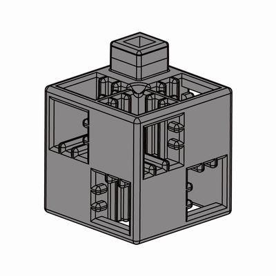 Artecブロック 基本四角 24P グレー
