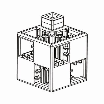 Artecブロック 基本四角 24P 白