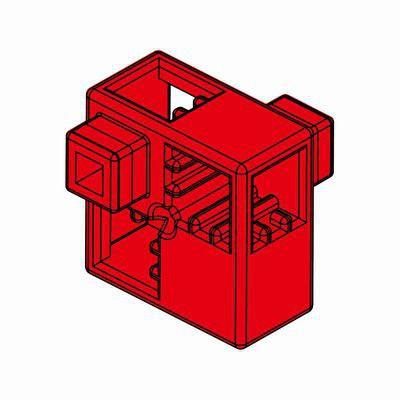 Artecブロック ハーフA 8P 赤