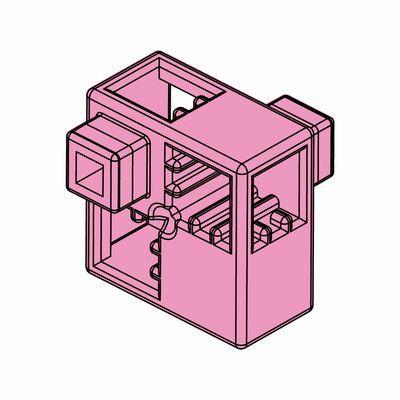 Artecブロック ハーフA 8P ピンク