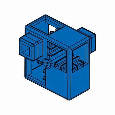 Artecブロック ハーフA 8P 青