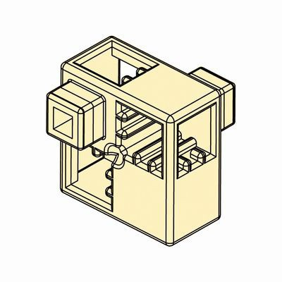 Artecブロック ハーフA 8P 薄黄