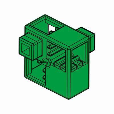 Artecブロック ハーフA 8P 緑