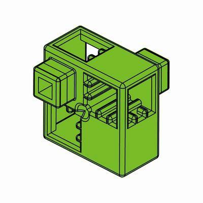 Artecブロック ハーフA 8P 黄緑