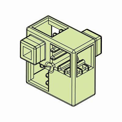 Artecブロック ハーフA 8P 薄緑