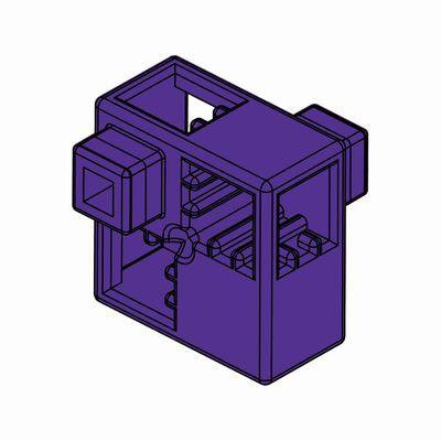 Artecブロック ハーフA 8P 紫