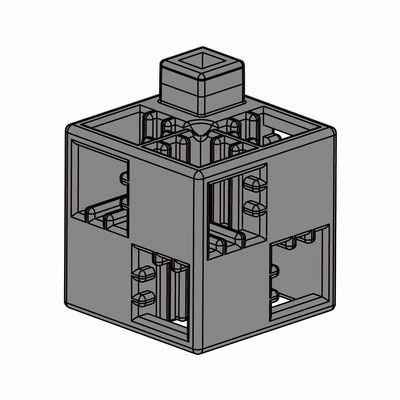 Artecブロック 基本四角 100P グレー