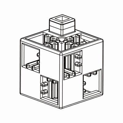 Artecブロック 基本四角 100P 白