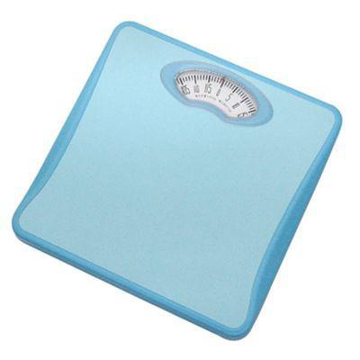 アナログ体重計 「シェイプス」 ブルー