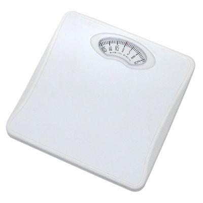 アナログ体重計 「シェイプス」 ホワイト