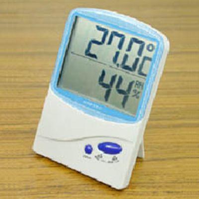 デジタル温湿度計 ブルー 画像2