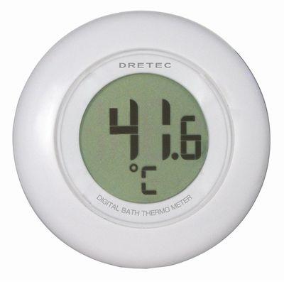 デジタル湯温計 ホワイト