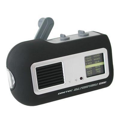 コンパクトラジオライト ブラック