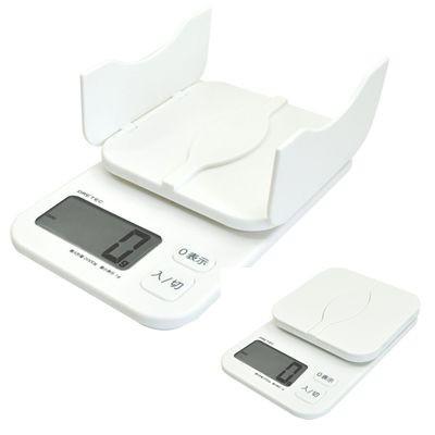 デジタルスケール「パカット」2kg ホワイト