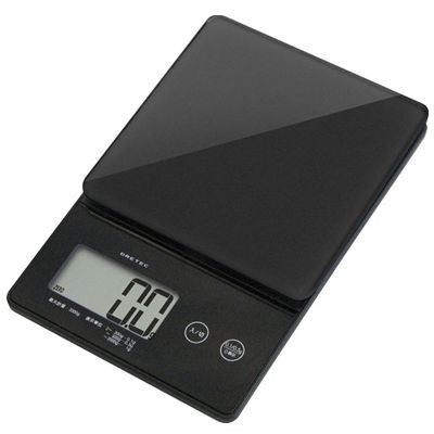 デジタルスケール「ストリーム」2kg ブラック