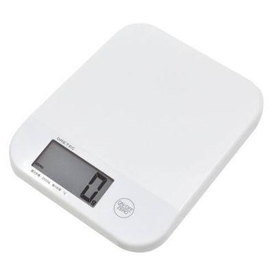 デジタルスケール「シフォン」2kg ホワイト