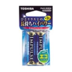 アルカリ乾電池 「IMPULSE」 単3形 2本
