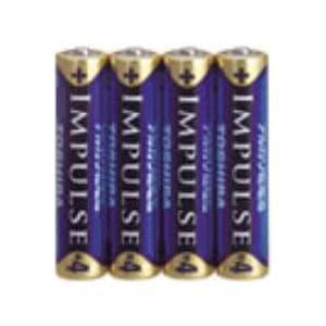アルカリ乾電池 「IMPULSE」 単4形 4本