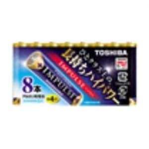 アルカリ乾電池 「IMPULSE」 単4形 8本