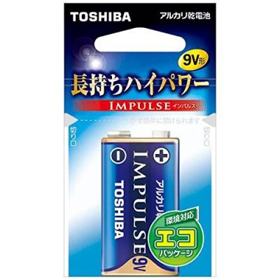 アルカリ乾電池 「IMPULSE」 9V形 1本