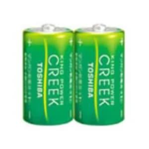 マンガン乾電池 「キングパワークリーク」 単1形 2本