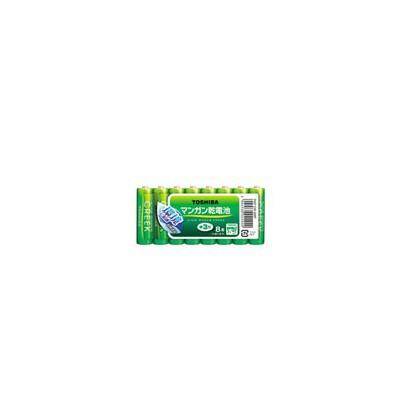マンガン乾電池 「キングパワークリーク」 単3形 8本