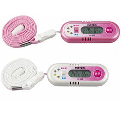 携帯型熱中症・風邪チェッカー(ピンク)