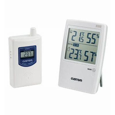 無線温湿度モニター 熱中症警告インジケーター付